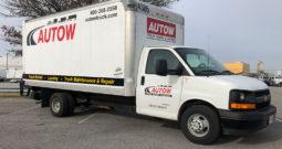 16′ Cutaway Box Truck