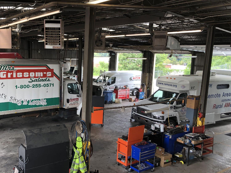 Autow Knoxville Maintenance shop