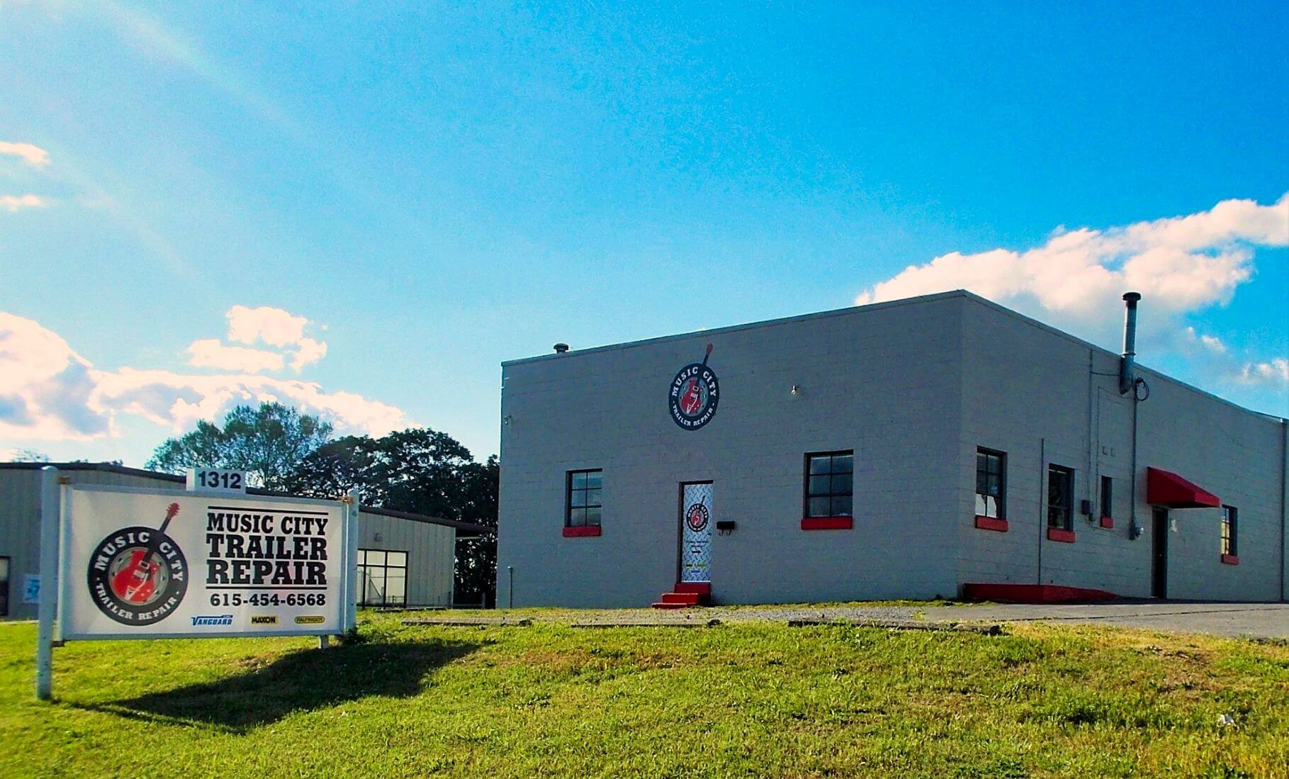 Music City Trailer Repair Building