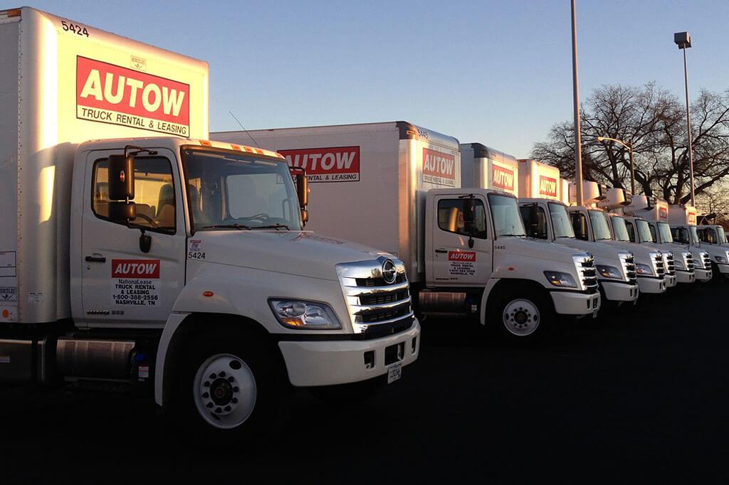 Row of Autow Trucks